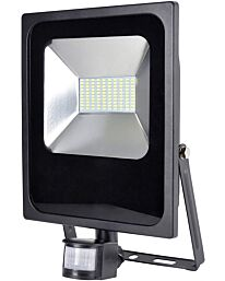 Rapid Response 50w LED Flood Light with PIR Motion Sensor – Slimline Security Light for Outdoor Use