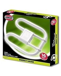 Eveready 2D 16w Lamps 4 pin 900lm