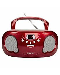 Groov-e Boombox Red- GVPS733RD