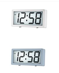 Acctim LINNEA Jumbo LCD Alarm Clock  1587 - Multiple colour
