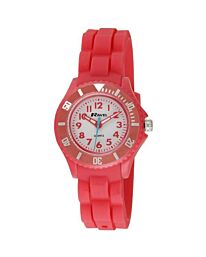 Ravel boy girl Silicon Sports Watch Mountain Red R1802.10