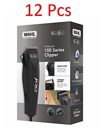 Wahl 100 GroomEase Men's Hair Clipper Carton- 12pcs