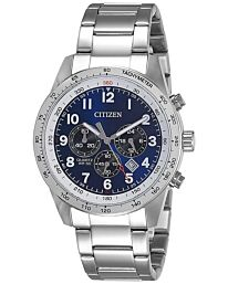 Citizen Eco-Drive Men's Chronograph Gilt Bracelet Watch AN8160-52L