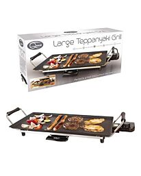 Quest Non-Stick Large Electric Teppanyaki Table Top Grill- 32529