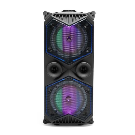 Intempo Portable Party Speaker with LED Lights