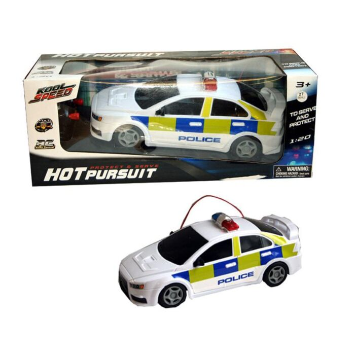 Uk Police Radio Control Rc Car Toy Game For Kids Boy Girl Dk Wholesale